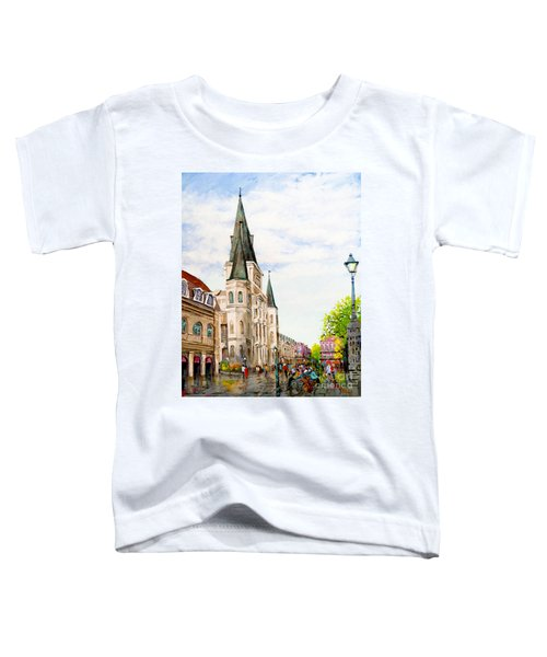 Cathedral Plaza - Jackson Square, French Quarter Toddler T-Shirt