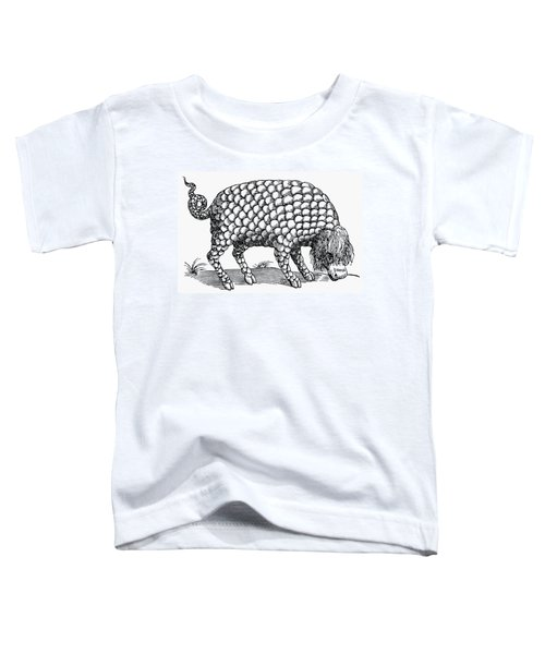 Catoblepas Monster, 1658 Toddler T-Shirt
