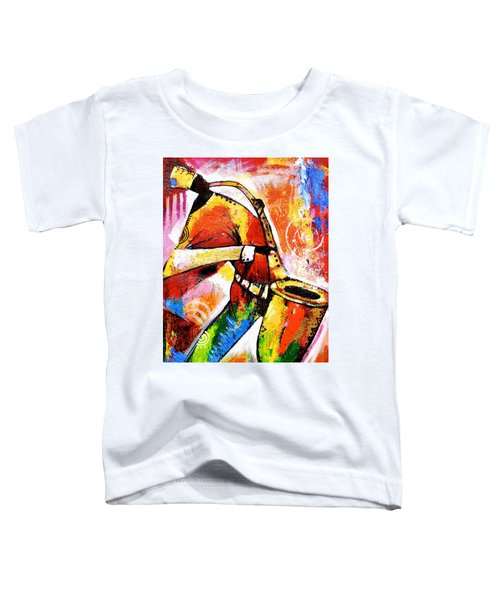 Celebrating Music Toddler T-Shirt