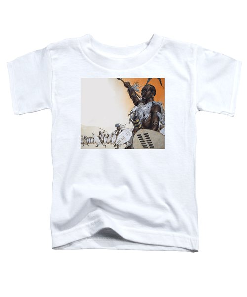 Chaka In Battle At The Head Toddler T-Shirt