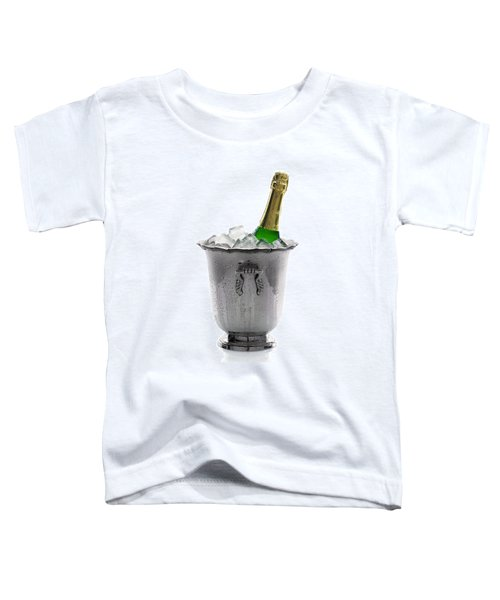 Champagne Bottle On Ice Toddler T-Shirt