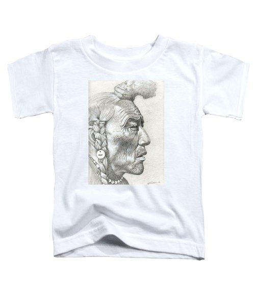 Cheyenne Medicine Man Toddler T-Shirt