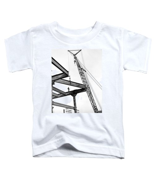 Chicago High Rise Construction Toddler T-Shirt