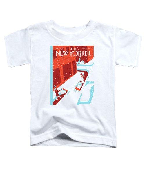 Snowplows Toddler T-Shirt