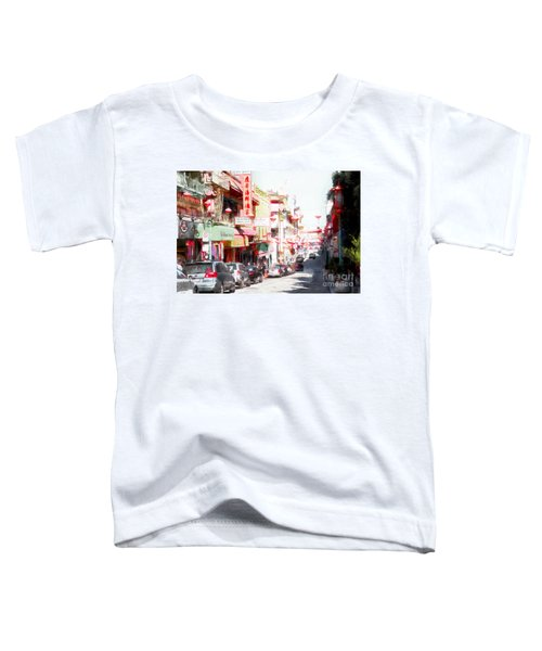 Chinatown Gate On Grant Avenue In San Francisco 7d7175wcstyle Toddler T-Shirt