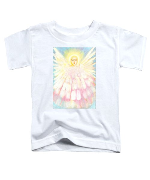 Choiring Angel Toddler T-Shirt