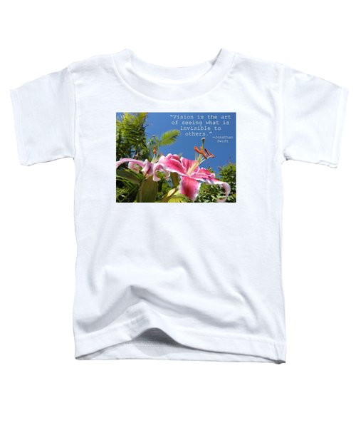 Choose Your Quote Choose Your Picture 19 Toddler T-Shirt