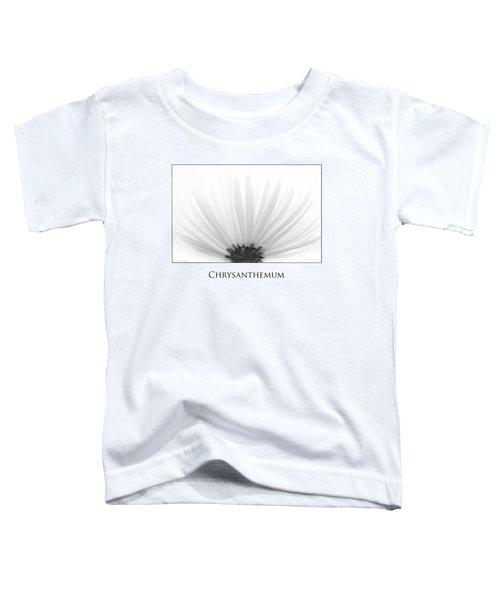 Chrysanthemum Toddler T-Shirt