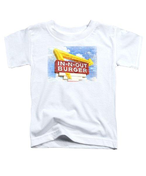 Classic Cali Burger 2.5 Toddler T-Shirt