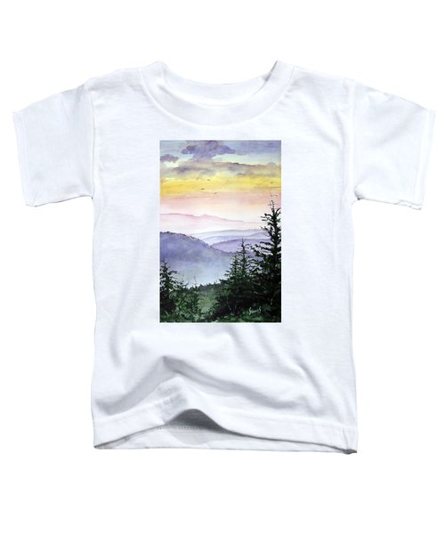 Clear Mountain Morning II Toddler T-Shirt