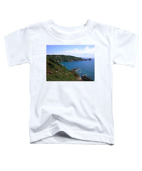 Cliffs On Isle Of Guernsey Toddler T-Shirt