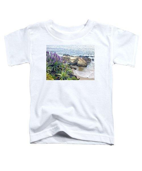 Cliffside Ocean View Toddler T-Shirt