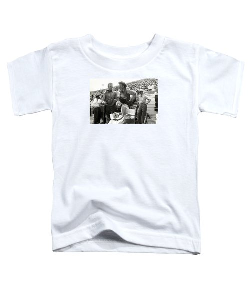 Clint Eastwood  Eric Fleming Characters Rowdy Yates Salinas California 1962 Toddler T-Shirt