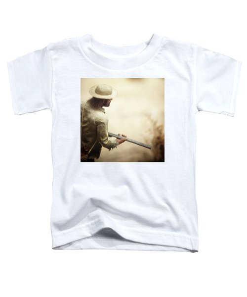 Close Up Of Miniature Model Of Miner Toddler T-Shirt