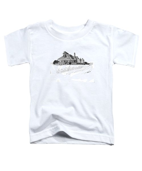 Coast Guard Station 1 Ocracoke 1970s Toddler T-Shirt