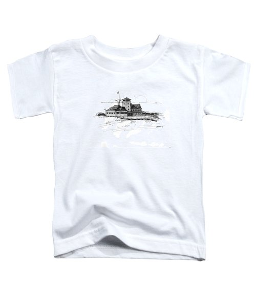 Coast Guard Station 2 Ocracoke 1970s Toddler T-Shirt