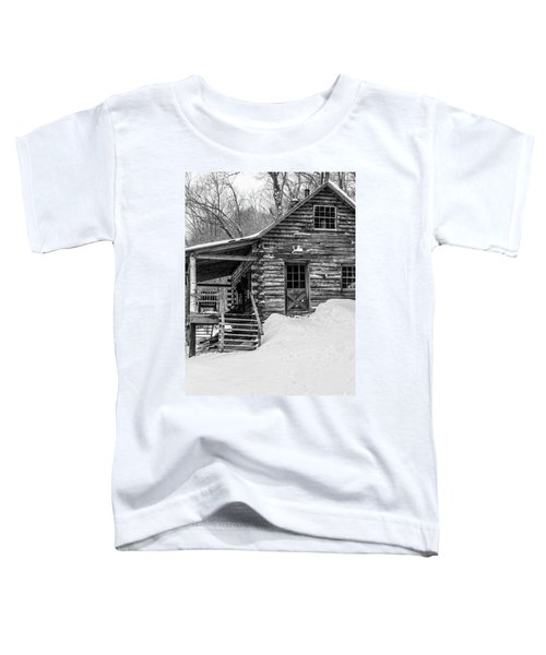 Slayton Pasture Cobber Cabin Trapp Family Lodge Stowe Vermont Toddler T-Shirt