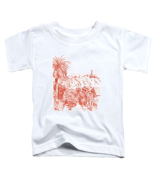Coit Tower View From Russian Hill San Francisco Toddler T-Shirt