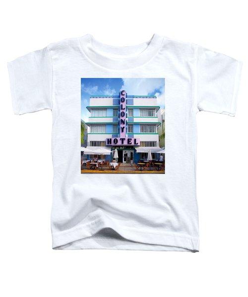 Colony Hotel Daytime Toddler T-Shirt
