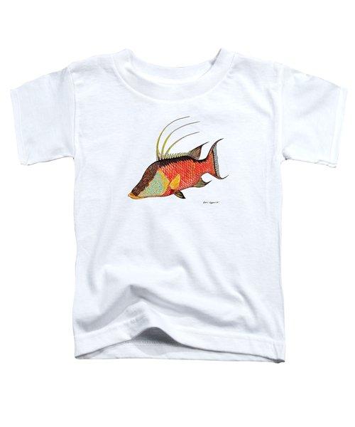 Colorful Hogfish Toddler T-Shirt