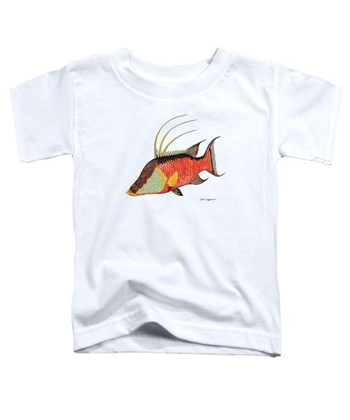 Colorful Hogfish Toddler T-Shirt