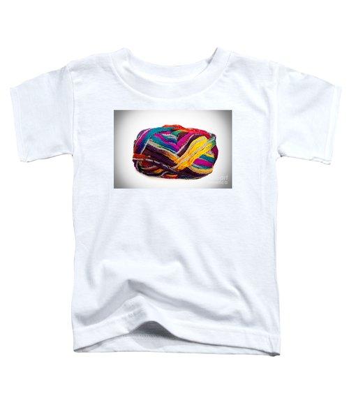 Colorful Yarn Toddler T-Shirt