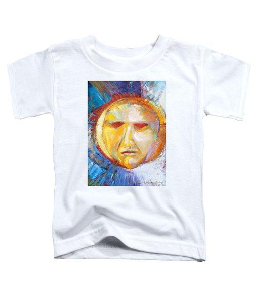 Contemplating The Sun Toddler T-Shirt