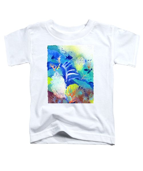Coral Reef Dreams 3 Toddler T-Shirt