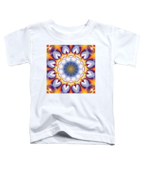 Cosmic Spiral Kaleidoscope 34 Toddler T-Shirt