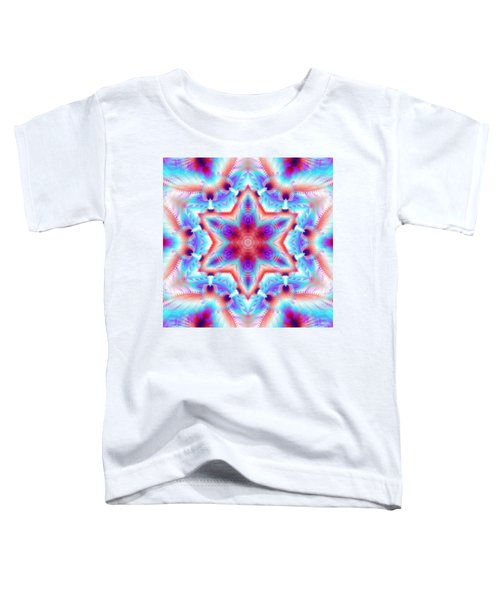 Cosmic Spiral Kaleidoscope 45 Toddler T-Shirt