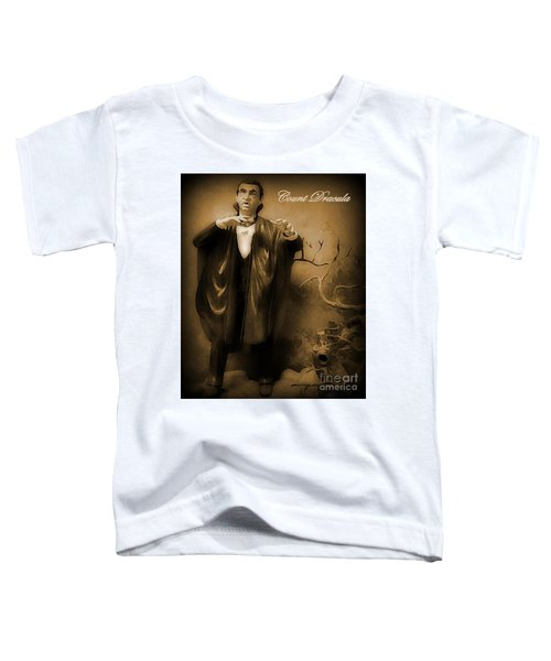 Count Dracula In Sepia Toddler T-Shirt
