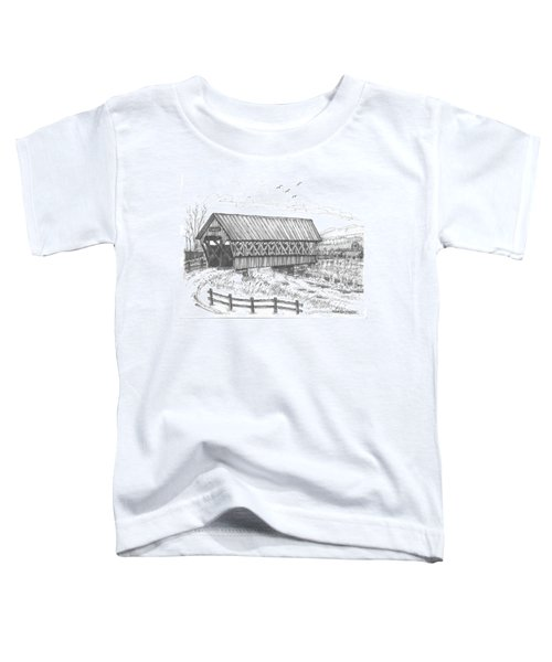 Covered Bridge Coventry Vermont Toddler T-Shirt