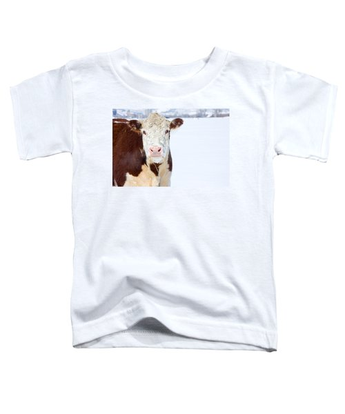 Cow - Fine Art Photography Print Toddler T-Shirt