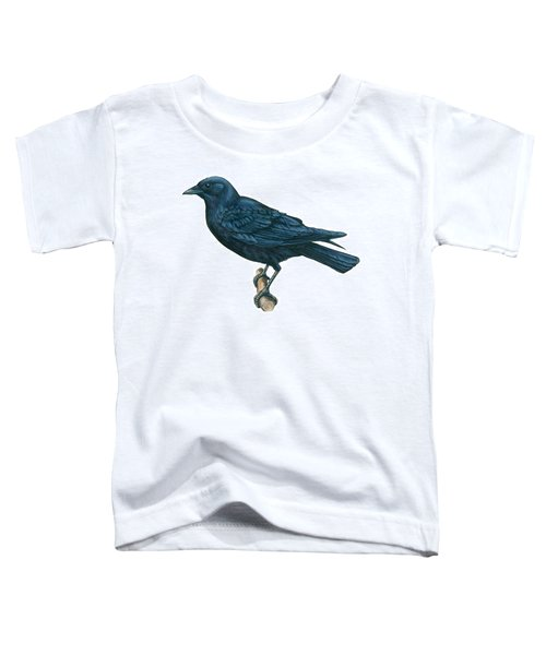 Crow Toddler T-Shirt by Anonymous