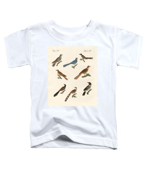 Cuckoos From Various Countries Toddler T-Shirt by Splendid Art Prints