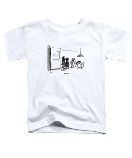 Curiosity Toddler T-Shirt