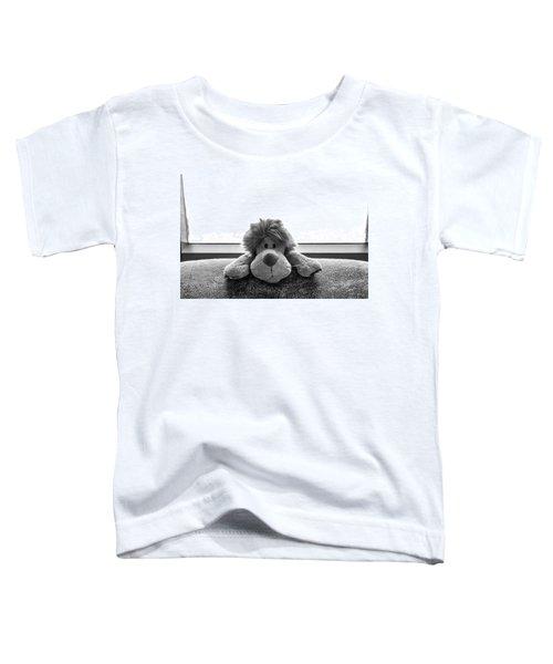 Curious Leo Toddler T-Shirt