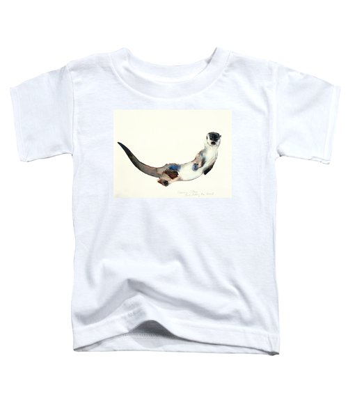 Curious Otter Toddler T-Shirt