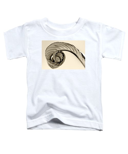 Curled Toddler T-Shirt