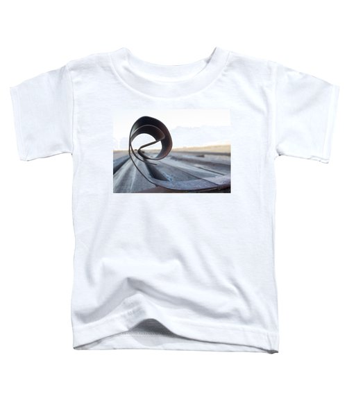 Curled Steel Toddler T-Shirt