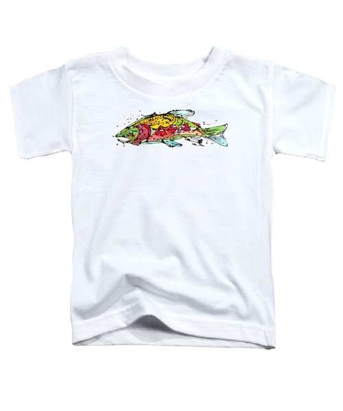Cutthroat Trout Toddler T-Shirt