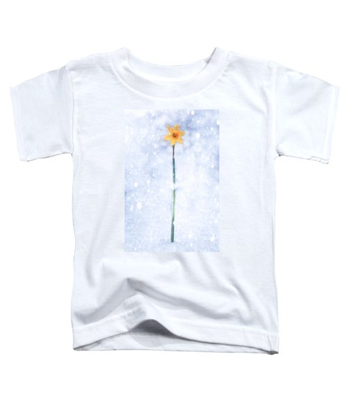 Daffodil In Snow Toddler T-Shirt