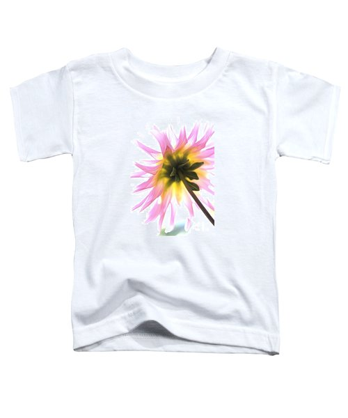 Dahlia Flower Toddler T-Shirt