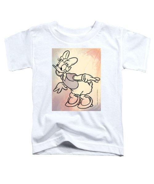 Daisy Duck Sketch Toddler T-Shirt