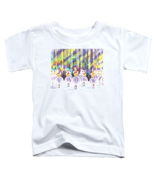 Dancers In The Forest Toddler T-Shirt by Kip DeVore