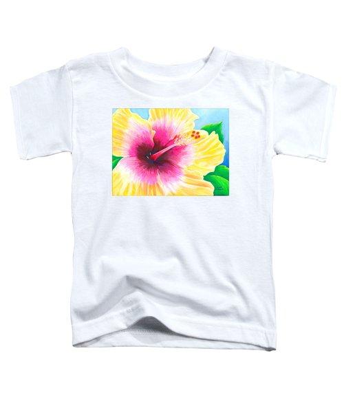 Dan's Hibiscus Toddler T-Shirt