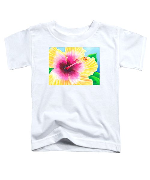 Dan's Hibiscus Toddler T-Shirt