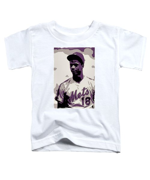 Darryl Strawberry Poster Art Toddler T-Shirt
