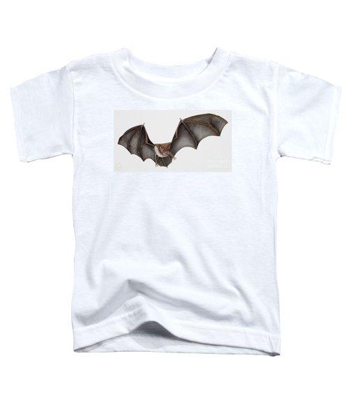 Daubentons Bat Myotis Daubentonii - Murin De Daubenton-murcielago Ribereno-vespertilio Di Daubenton Toddler T-Shirt