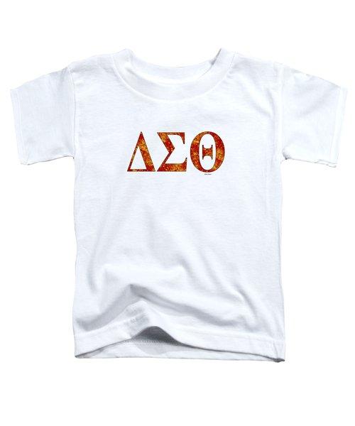 Delta Sigma Theta - White Toddler T-Shirt